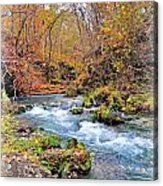 Greer Spring In Fall Acrylic Print