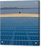 Greetings To The Sun Zadar Installation Acrylic Print
