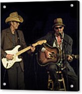 Greg Brown And Bo Ramsey In Concert Acrylic Print