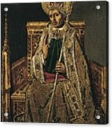 Gregory I The Great, Saint 540-604 Acrylic Print