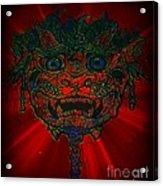 Gremlin In Dynamic Color Acrylic Print