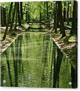 Gren Green Acrylic Print