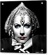 Greta Garbo Portrait Acrylic Print