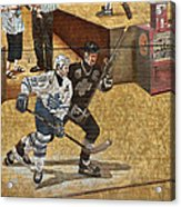 Gretzky And Gilmour 2 Acrylic Print