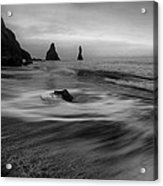 Grey Dawn Acrylic Print