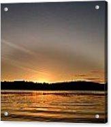 Grey Heaven - Sunrise Panorama Acrylic Print