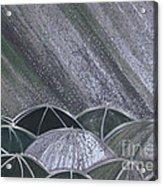 Grey Rain 2 By Jrr Acrylic Print