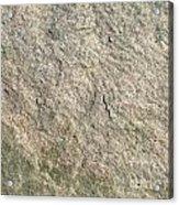 Grey Rock Texture Acrylic Print