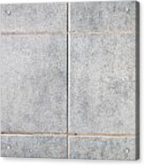 Grey Tiles Acrylic Print