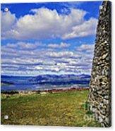 Grianan Of Aileach View Acrylic Print