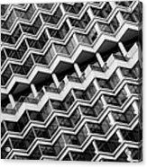 Grid Lines Acrylic Print