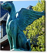 Griffin Natural Color Acrylic Print