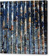 Grill Abstract Acrylic Print