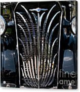 Grill And Headlights Acrylic Print