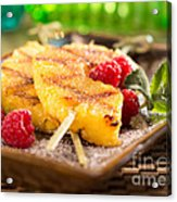 Grilled Pineapple  Acrylic Print