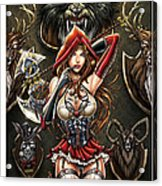 Grimm Myths And Legends 01e - Red Riding Hood Acrylic Print by Zenescope Entertainment