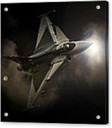 Gripen Light Acrylic Print