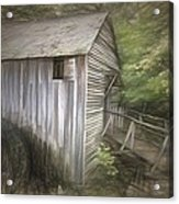 Grist Mill At Cades Cove Acrylic Print