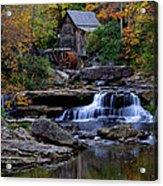 Grist Mill Falls Acrylic Print