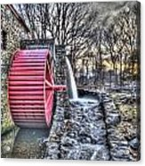 Grist Mill Sudbury Acrylic Print by Adam Green