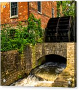Grist Mill Acrylic Print by Thomas Woolworth