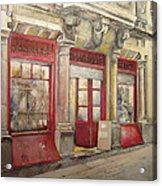 Grocery Store In Old Town Acrylic Print