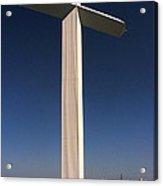 Groom Texas Cross II Acrylic Print