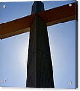 Groom Texas Cross IIi Acrylic Print