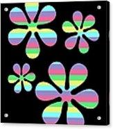 Groovy Flowers 4 Acrylic Print