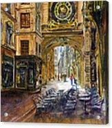 Gros Horlaoge Rouen France Acrylic Print