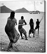 Gros Islet Fishermen Acrylic Print