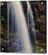 Grotto Falls Tennessee Acrylic Print