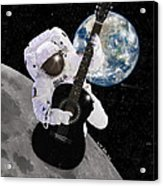 Ground Control To Major Tom Acrylic Print by Nikki Marie Smith