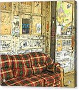 Front Porch - Ground Zero Blues Club Clarksdale Ms Acrylic Print