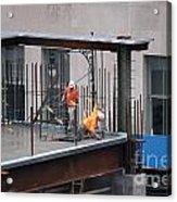 Ground Zero Construction Acrylic Print
