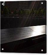 Ground Zero Memorial Three Acrylic Print
