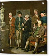 Group Of Connoisseurs Acrylic Print
