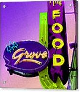 Grove Fine Food Var 2 Acrylic Print