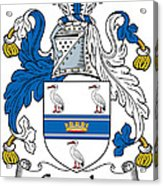 Grumley Coat Of Arms Irish Acrylic Print