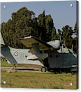 Grumman Hu-16 Albatros Of The Hellenic Acrylic Print