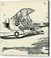 Grumman J2f-2a  Amphibian Acrylic Print