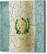 Grunge Guatemala Flag Acrylic Print