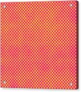 Grunge Halftone Background. Halftone Acrylic Print