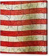 Grunge Liberia Flag Acrylic Print