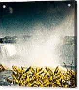 Grunge Niagara Acrylic Print
