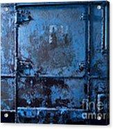 Grunge Old Metal Texture Acrylic Print