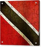 Grunge Trinidad And Tobago Flag Acrylic Print