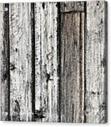 Grungy Old Wood Background Acrylic Print
