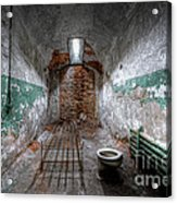 Grungy Prison Cell Acrylic Print