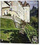 Gruyeres Castle Acrylic Print